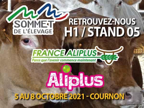 France Aliplus présent au Sommet de l'Élevage (85)