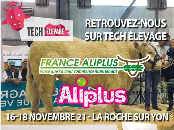 France Aliplus présent à Tech Élevage (85)